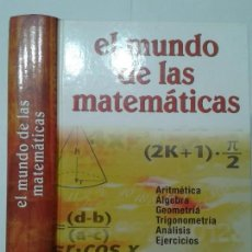 Libros de segunda mano de Ciencias: EL MUNDO DE LAS MATEMÁTICAS 2003 TEXTOS JUAN LUIS GUTIERREZ EDICIONES NAUTA 1ª EDICIÓN. Lote 119302259