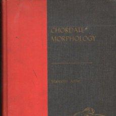 Libros de segunda mano: MALCOLM JOLLIE : CHORDATE MORPHOLOGY (REINHOLD, 1962). Lote 119321263