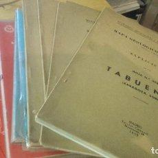 Libros de segunda mano: LOTE 8 MAPAS GEOLOGICOS Y MINEROS DE ESPAÑA.. Lote 119574855