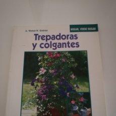 Libros de segunda mano: PLANTAS TREPADORAS Y COLGANTES - ANGELIKA WEBER KARIN GREINER - EVEREST 1997. Lote 119716988
