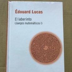 Libros de segunda mano de Ciencias: EL LABERINTO (JUEGOS MATEMÁTICOS I), EDOUARD LUCAS RBA DESAFÍOS MATEMÁTICOS, PRECINTADO. Lote 119935279
