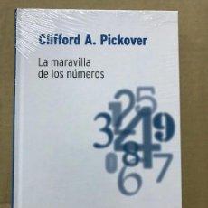 Libros de segunda mano de Ciencias: LA MARAVILLA DE LOS NUMEROS. CLIFFORD. A. PICKOVER.- RBA DESAFÍOS MATEMÁTICOS, PRECINTADO. Lote 119936635