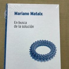 Libros de segunda mano de Ciencias: EN BUSCA DE LA SOLUCIÓN - MARIANO MATAIX - RBA DESAFÍOS MATEMÁTICOS, PRECINTADO. Lote 119936967