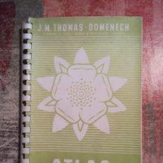 Libros de segunda mano: ATLAS DE BOTÁNICA - J.M. THOMAS-DOMENECH. Lote 120112779