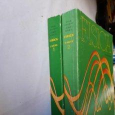 Libros de segunda mano de Ciencias: CIENCIAS FÍSICA - FÍSICA HALLIDAY Y RESNICK DOS TOMOS 1982 MÉXICO CECSA. Lote 119927510