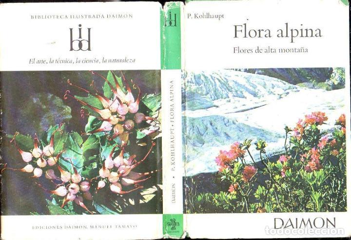FLORA ALPINA - FLORES DE ALTA MONTAÑA (DAIMON, 1965) (Libros de Segunda Mano - Ciencias, Manuales y Oficios - Biología y Botánica)