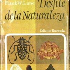Libros de segunda mano: FRANK LANE : DESFILE DE LA NATURALEZA (PLAZA JANÉS, 1965). Lote 120739031