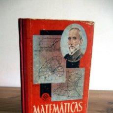 Libros de segunda mano de Ciencias - MATEMÁTICAS SEXTO CURSO. EDITORIAL LUIS VIVES. 1959 - 120751743