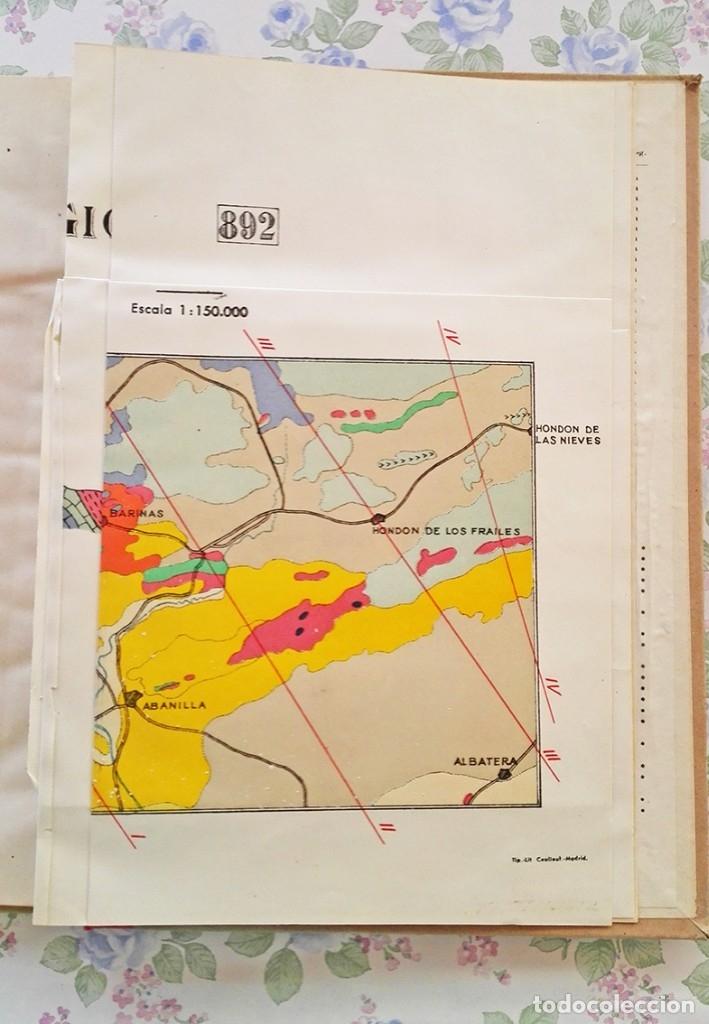 Libros de segunda mano: 1953 Mapa geologico Fortuna Murcia y Alicante geologia geografia - Foto 4 - 39341334