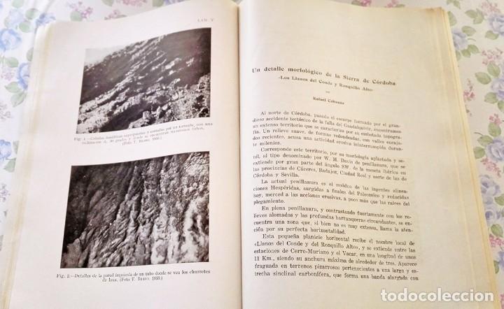 Libros de segunda mano: 1954 Boletín Extraordinario Historia Natural Real Sociedad Española - Eduardo Hernández Pacheco - Foto 12 - 49264461