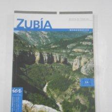 Libros de segunda mano: ZUBIA. REVISTA CIENCIAS. MONOGRAFICO Nº 14. ASPECTOS NATURALISTICOS DE LOS CAMEROS. GEOLOGIA TDK271. Lote 120894571