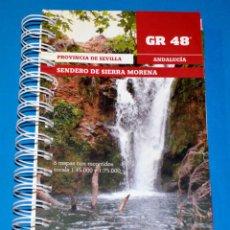 Libros de segunda mano: LIBRO GR-48, SENDERO DE SIERRA MORENA. Lote 120895439