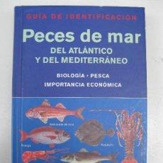 Livros em segunda mão: PECES DE MAR - DEL ATLÁNTICO Y DEL MEDITERRÁNEO - GUÍA DE IDENTIFICACIÓN - EDICIONES OMEGA.. Lote 121018123