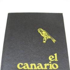 Libros de segunda mano: EL CANARIO - CANARICULTURA - MIGUEL DEL PINO LUENGO - BIBLIOTECA TÉCNICA AEDOS - AÑO 1975.. Lote 121019339