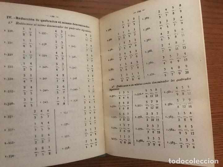 Libros de segunda mano de Ciencias: TRATADO DE ARITMÉTICA TERCER GRADO. 1958. EDICIONES BRUÑO. - Foto 2 - 121033695