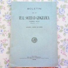 Libros de segunda mano: 1959 TOMO 95 - Nº 1 AL 6 (ENERO - JUNIO) BOLETÍN AZUL GEOGRAFÍA. Lote 55127315