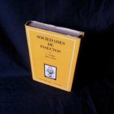 Libros de segunda mano: J. OTERO ESPASANDIN - SOCIEDADES DE INSECTOS - COLECCION ORO 9/9 BIS - ATLANTIDA 3ª EDICION 1952. Lote 121155171