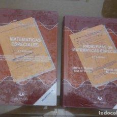 Libros de segunda mano de Ciencias: MATEMÁTICAS ESPECIALES. ED. SANZ Y TORRES. TEORIA Y PROBLEMAS. 2ª EDICIÓN. Lote 121213379