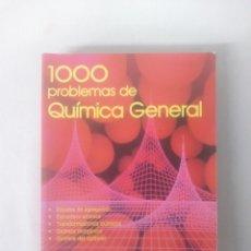 Libros de segunda mano de Ciencias: 1000 PROBLEMAS DE QUÍMICA GENERAL - VV.AA. - EVEREST. Lote 121243847