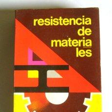 Livros em segunda mão: RESISTENCIA DE MATERIALES - TOMAS PEREZ WHITE. Lote 121312735