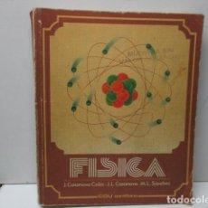 Libros de segunda mano de Ciencias: FÍSICA - COU - ED. SANTILLANA . Lote 121675151