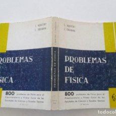 Libros de segunda mano de Ciencias: J. AGUILAR PERIS, J. CASANOVA COLAS PROBLEMAS DE FÍSICA. RMT86442. Lote 121903255