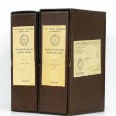 Libros de segunda mano: [GEOLOGÍA] MONOGRAPHIES RÉGIONALES. CONGRÈS GÉOLOGIQUE INTERNATIONAL. ALGÉRIE [ARGELIA] 1952. Lote 122078747