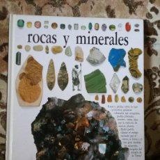 Libros de segunda mano: ROCAS Y MINERALES. BIBLIOTECA VISUAL ALTEA. EXCELENTE ESTADO. BELLAS ILUSTRACIONES.. Lote 122110523