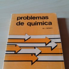 Libros de segunda mano de Ciencias: PROBLEMAS DE QUÍMICA - SERIE REVERTE DE PROBLEMAS. Lote 122196216