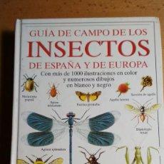 Libros de segunda mano: GUIA DE CAMPO DE LOS INSECTOS DE ESPAÑA Y DE EUROPA POR MICHAEL CHINERY EDICIONES OMEGA VER FOTOS. Lote 128325738