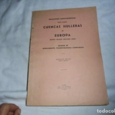 Libros de segunda mano: RELACIONES ESTRATIGRAFICAS ENTRE VARIAS CUENCAS HULLERAS DE EUROPA.IGNACIO PATAC.MADRID 1944. Lote 122605091