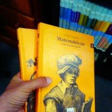 Libros de segunda mano de Ciencias: MATEMÁTICAS JORGE GONZÁLEZ AGUILAR- MIZAR 2 LIBROS. Lote 122617379