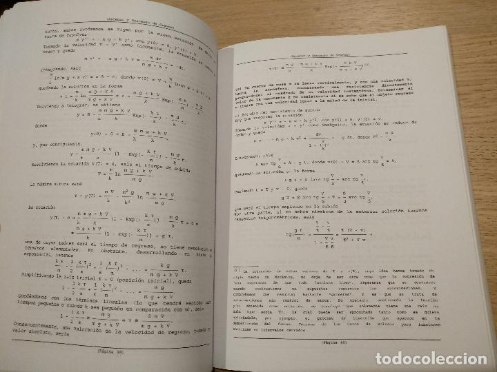 Libros de segunda mano de Ciencias: Problemas resueltos de ecuaciones diferenciales. Raya Saro, Andrés Rubio Ruiz, Rafael María Ríder M - Foto 2 - 122617599