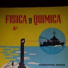 Libros de segunda mano de Ciencias: FÍSICA Y QUÍMICA 4 1965. Lote 122674916