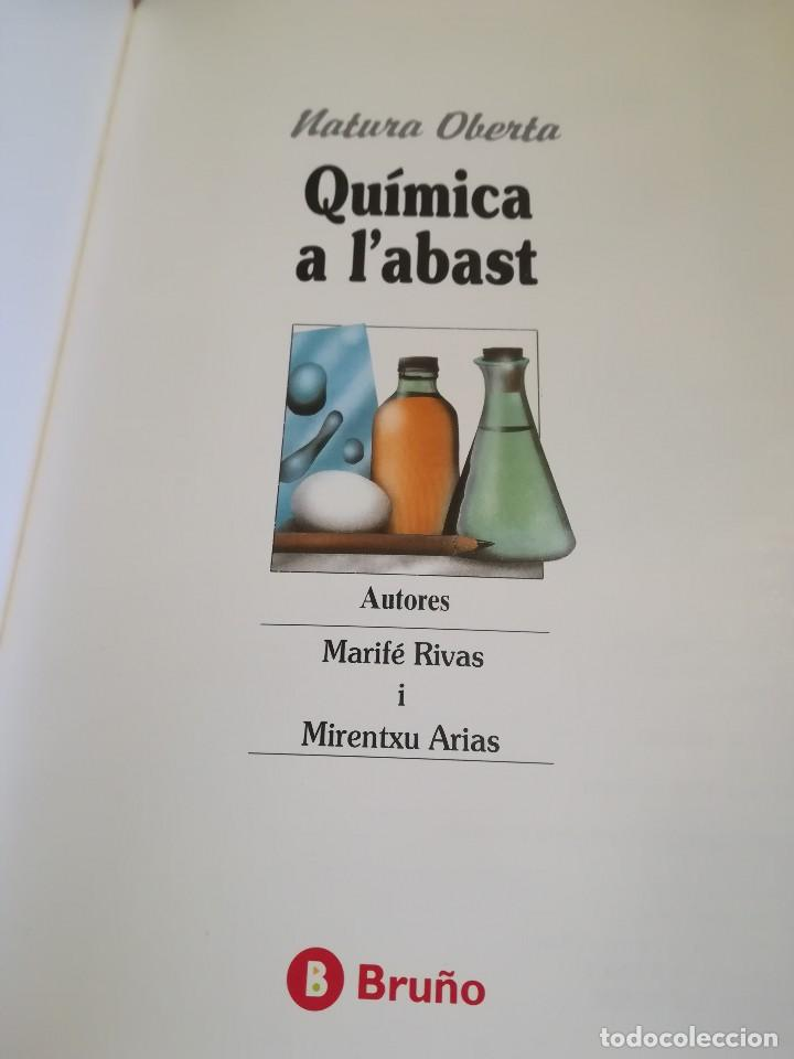 Libros de segunda mano de Ciencias: Química a labast - Marifé Rivas / Mirentxu Arias - en català - Foto 3 - 123380315