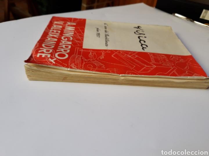 Libros de segunda mano de Ciencias: Ciencias física - física 6º curso del bachillerato plan 1957 Mingarro Summa 1971 - Foto 4 - 123580492