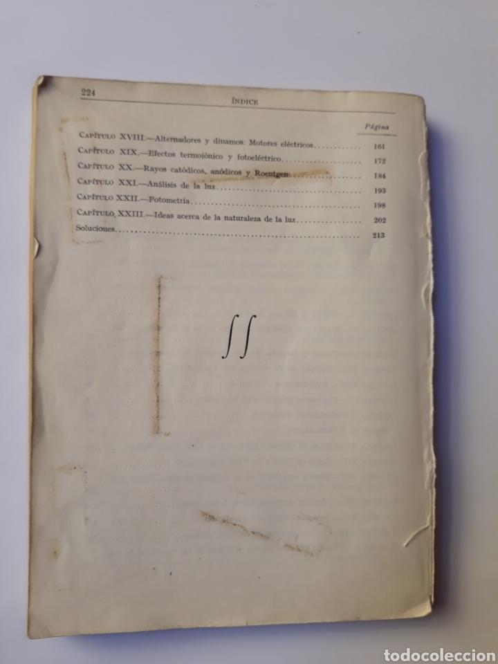 Libros de segunda mano de Ciencias: Ciencias física - física 6º curso del bachillerato plan 1957 Mingarro Summa 1971 - Foto 5 - 123580492