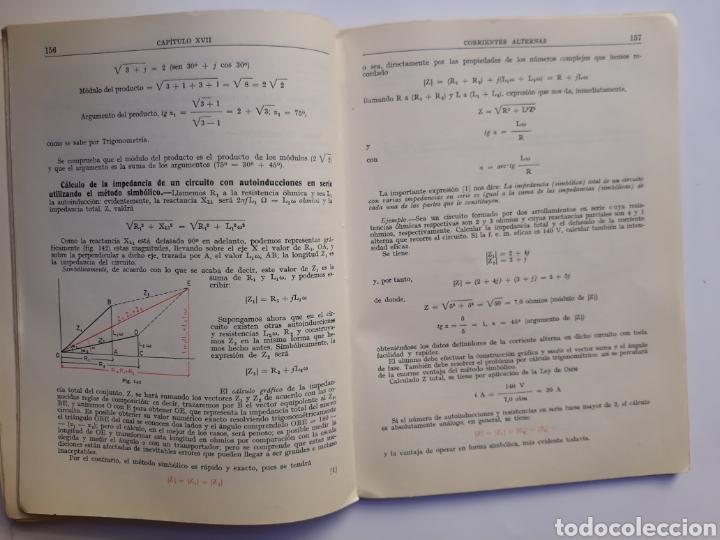 Libros de segunda mano de Ciencias: Ciencias física - física 6º curso del bachillerato plan 1957 Mingarro Summa 1971 - Foto 11 - 123580492