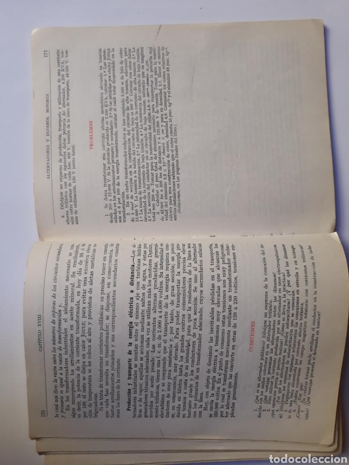 Libros de segunda mano de Ciencias: Ciencias física - física 6º curso del bachillerato plan 1957 Mingarro Summa 1971 - Foto 12 - 123580492