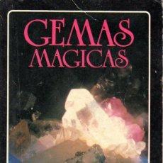 Libros de segunda mano: GEMAS MAGICAS, LA TABLA DE ESMERALDA. CORNELIA M. PARKINSON. EDITORIAL ADAF. 1989. Lote 124504415
