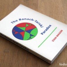 Libros de segunda mano de Ciencias: STAN WAGON. THE BANACH-TARSKI PARADOX. Lote 124685035