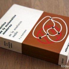 Libros de segunda mano de Ciencias: T. J. FLETCHER. DIDÁCTICA DE LA MATEMÁTICA MODERNA EN LA ENSEÑANZA MEDIA. Lote 124701607