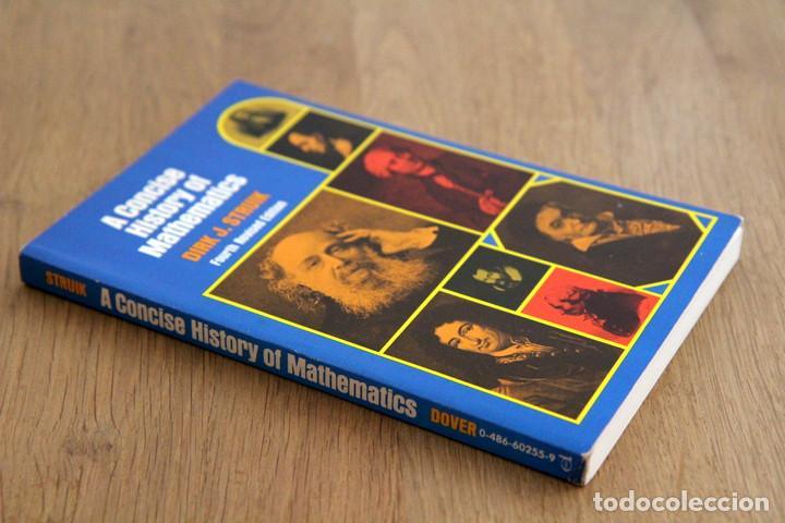 DIRK J. STRUIK. A CONCISE HISTORY OF MATHEMATICS (Libros de Segunda Mano - Ciencias, Manuales y Oficios - Física, Química y Matemáticas)