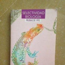 Libros de segunda mano - Selectividad biología. Pruebas de 1993 (Anaya) - 124844784