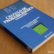 Libros de segunda mano de Ciencias: JOAN BARÓ LLINÀS. CÁLCULO DE PROBABILIDADES. Lote 125135647
