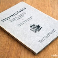 Libros de segunda mano de Ciencias: LUIS RUIZ-CASTILLO. PROBABILIDADES. CONCEPTOS, DEFINICIONES, TEOREMAS FUNDAMENTALES Y EJERCICIOS. Lote 125136007