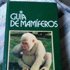 Libros de segunda mano: GUÍA DE MAMÍFEROS. GRIJALBO. Lote 125221863