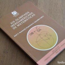 Libros de segunda mano de Ciencias: JOSÉ V. AYMERICH MIRALLES. XIX OLIMPIADA IBEROAMERICANA DE MATEMÁTICAS. Lote 214065631