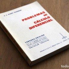 Libros de segunda mano de Ciencias: J. A. MARÍN TEJERIZO. PROBLEMAS DE CÁLCULO DIFERENCIAL. Lote 125350099