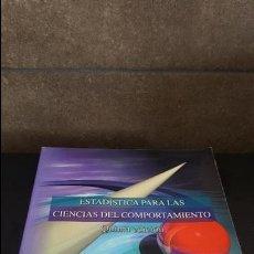 Libros de segunda mano de Ciencias: ESTADISTICA PARA LAS CIENCIAS DEL COMPORTAMIENTO. ROBERT R. PAGANO. THOMSON/ I.T.P. LATIN AMERI1998.. Lote 125442115